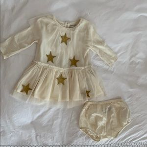 Stella McCartney Kids cream dress
